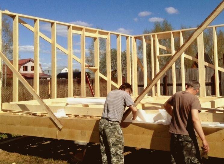 Проект каркасный дом своими руками